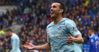 Chelsea's Spanish midfielder Pedro