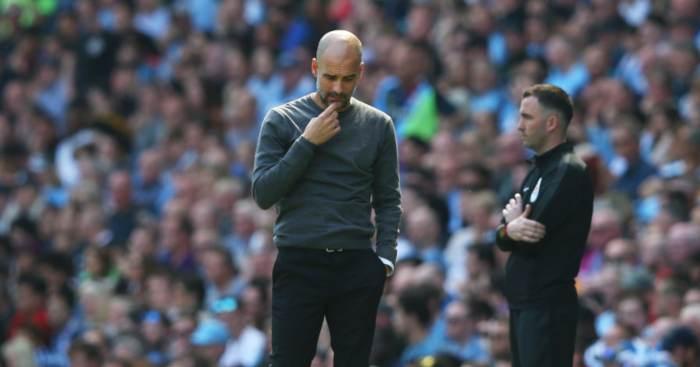 Pep Guardiola Manchester City Tottenham