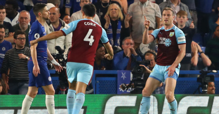 Chelsea back in top four but boos ring out as Burnley bag point