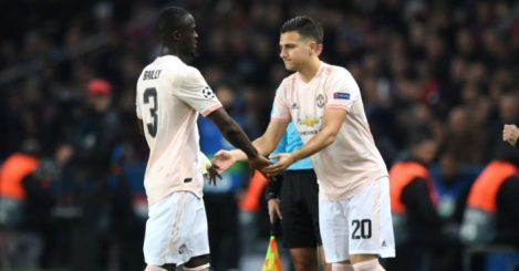 Eric Bailly Diogo Dalot TEAMtalk