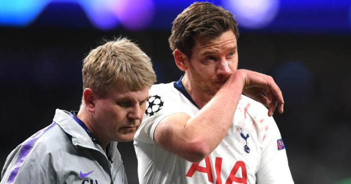 Jan.Vertonghen1 - Ajax star lets slip how Tottenham can overturn 1-0 deficit