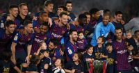 Barcelona La Liga trophy TEAMtalk