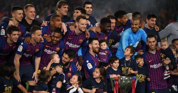 Barcelona La Liga trophy TEAMtalk