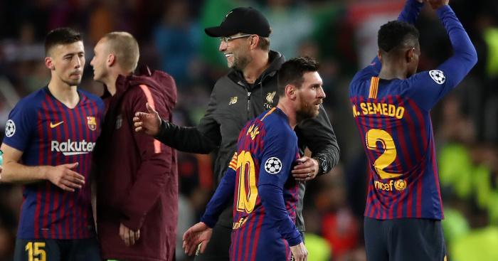 Jurgen Klopp, Lionel Messi TEAMtalk