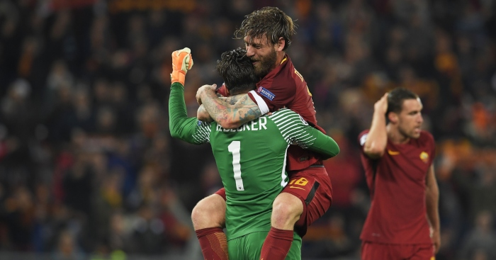 Alisson Becker Daniele De Rossi Roma - Spurs defence like 'a burst sewer'; can Liverpool weakness be exposed?