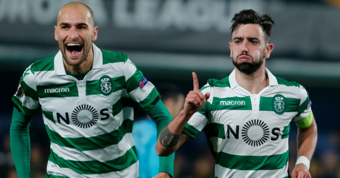 Bas.Dost .Bruno .Fernandes1 - Man Utd confident £71m midfielder deal will be done in days