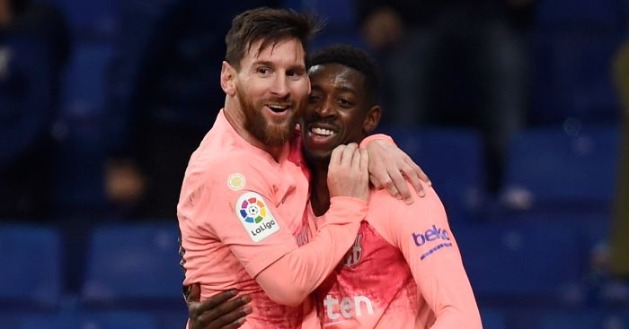 Lionel.Messi .Ousmane.Dembele - Euro Paper Talk: Arsenal to move for ideal Ramsey replacement; Barca to take €25m hit on star