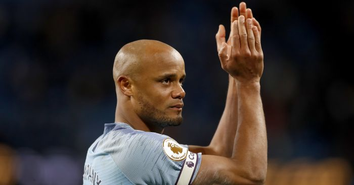Vincent Kompany Manchester City skipper