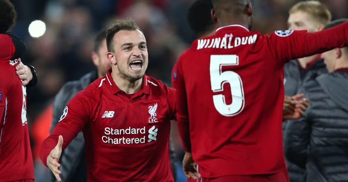 Shaqiri Reveals Disappointment At Liverpool Role And Target For Season