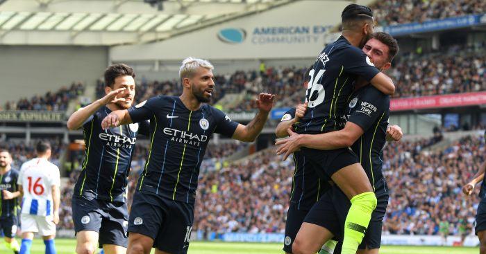 Majestic Man City thump Brighton to make it back to back Prem titles