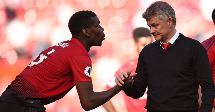 Paul.Pogba .Ole .Gunnar.Solskjaer1 - Five big questions over Man Utd summer clearout; Arsenal fans name four priority signings