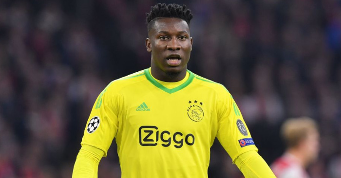 Andre.Onana1  - Paper Talk: Man Utd nearing deal to sign £40m Nemanja Matic successor; Arsenal to bid big for Wolves star