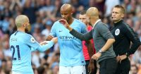 David Silva; Vincent Kompany TEAMtalk
