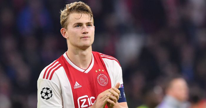 Matthijs.de .Ligt 1 - Euro Paper Talk: Real Madrid eye stunning raid for Liverpool defender; €80m bid placed for Man Utd, City target