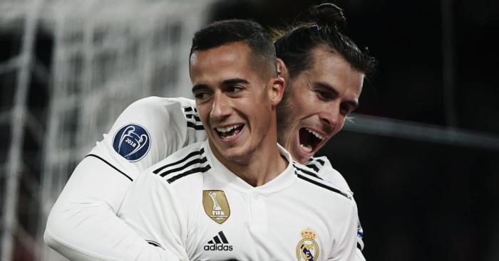 Gareth Bale, Lucas Vazquez TEAMtalk