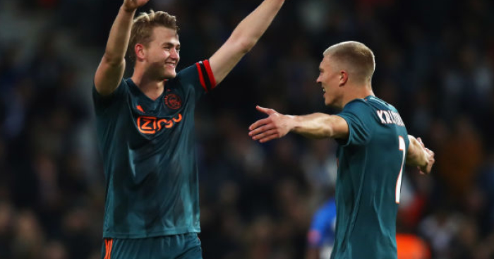 Matthijs.de .Ligt .Rasmus.Nissen.Kristensen1 - De Ligt swayed to snub Barcelona for Man Utd for one key reason