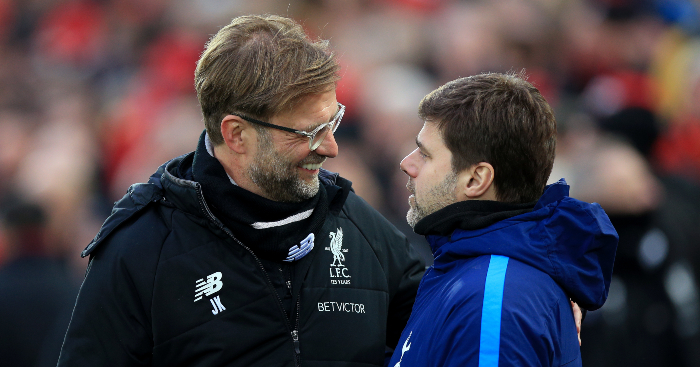 Jurgen Klopp Mauricio Pochettino Liverpool Spurs - 5 major talking points ahead of Liverpool v Tottenham CL final