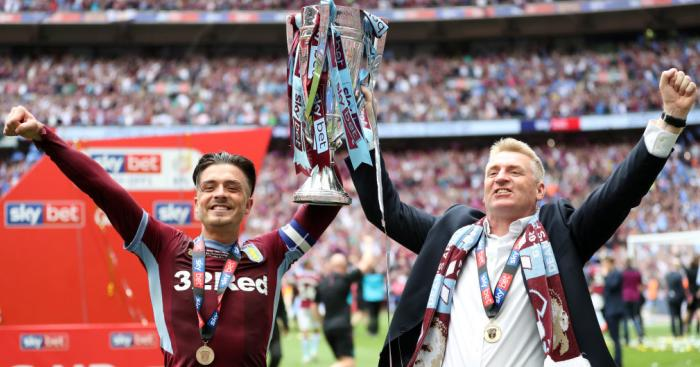 Villa boss Dean Smith picks out one name to earn England cap this season