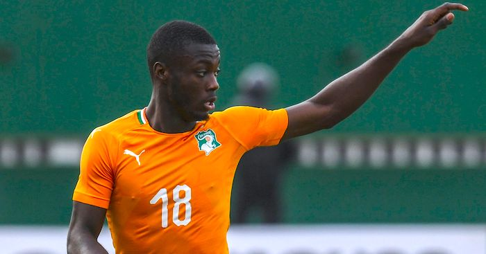 Ivory Coast's forward Nicolas Pepe
