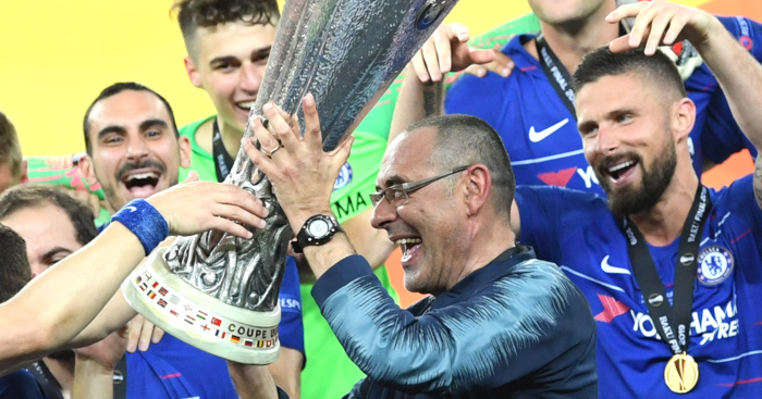 Maurizio Sarri Chelsea1 - What does the future hold after EL final; Rivals debate transfer dealings