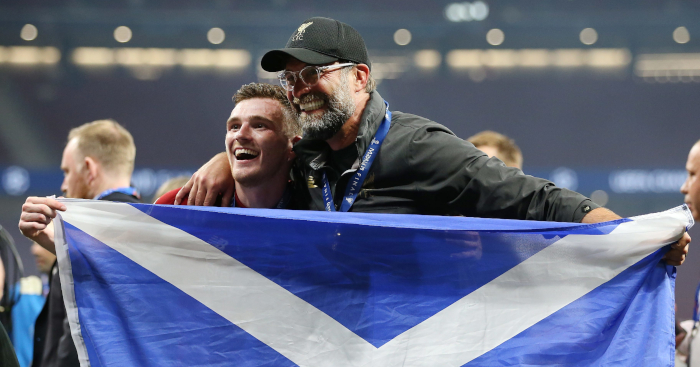 Andy Robertson Liverpool - Klopp reveals what moved him to tears during Champions League parade