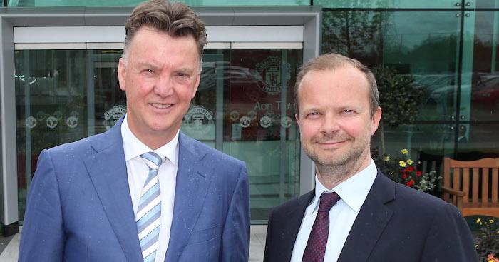 Woodward Van Gaal Manchester United