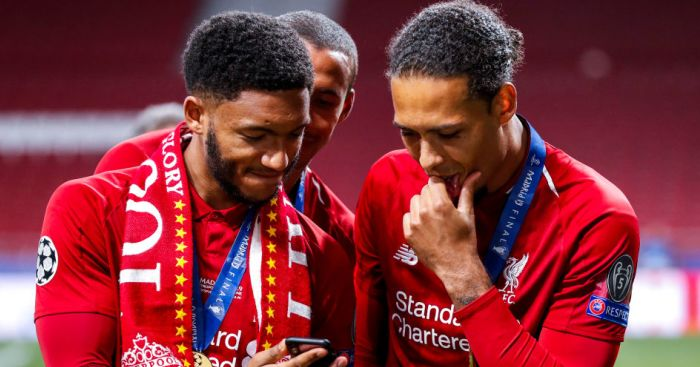 Joe Gomez TEAMtalk