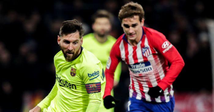 Antoine Griezmann; Lionel Messi TEAMtalk
