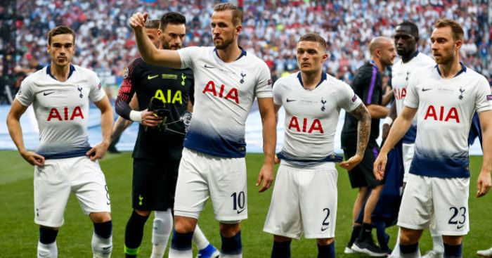 Kane Eriksen Trippier TEAMtalk