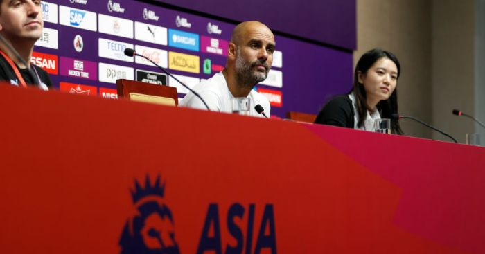 Guardiola reveals he would like one more, but has contingency plan