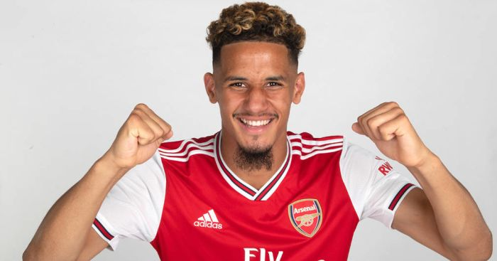 William Saliba (pic from Arsenal FC)