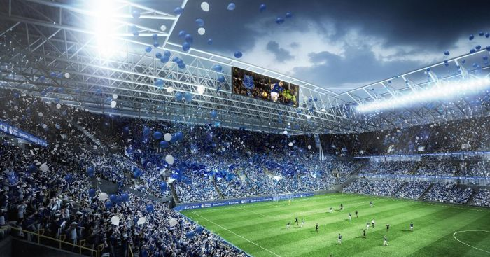 New Everton stadium (pic from EFC)