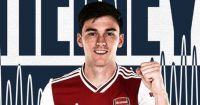 Tierney (image from Arsenal.com)