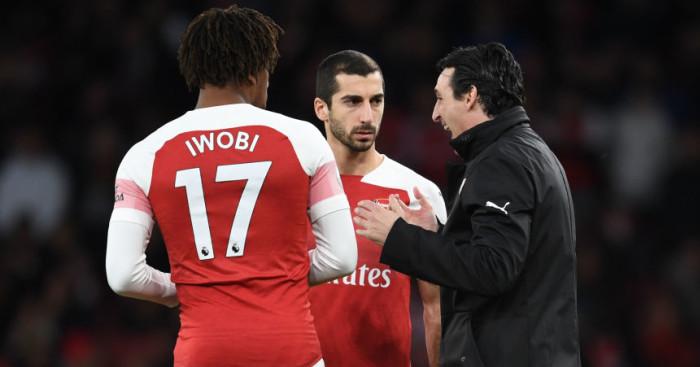 Iwobi Mkhitaryan Arsenal