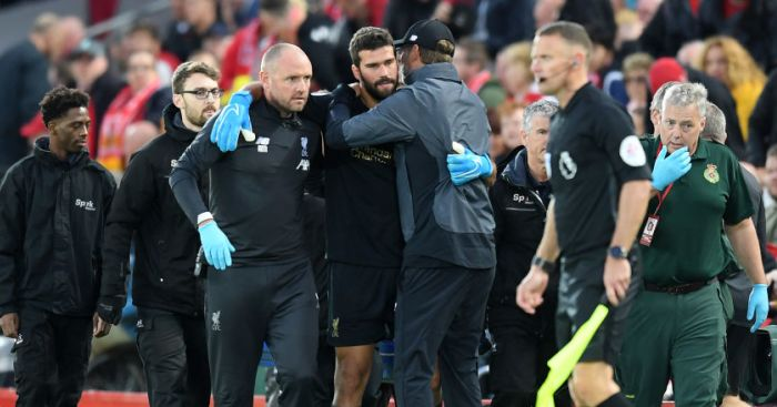 Alisson Klopp Liverpool TEAMtalk