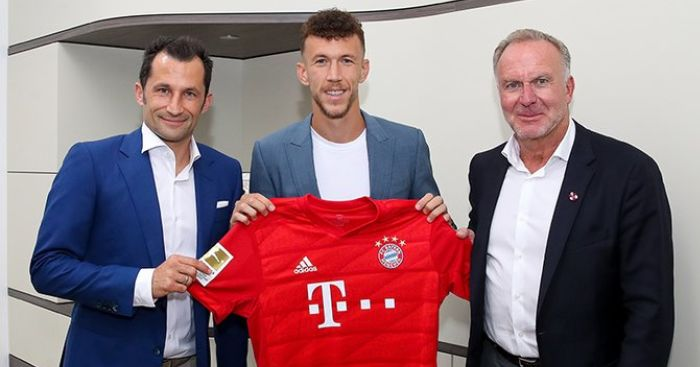 Ivan Perisic (pic from Bayern FC)