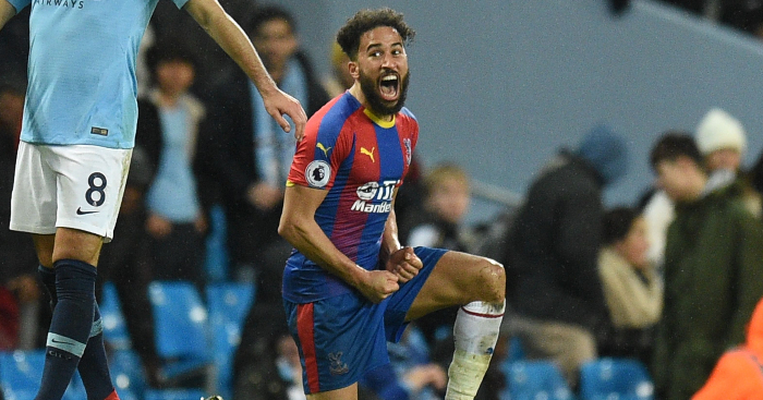 Andros Townsend reveals low point of losing £46,000 in one tap