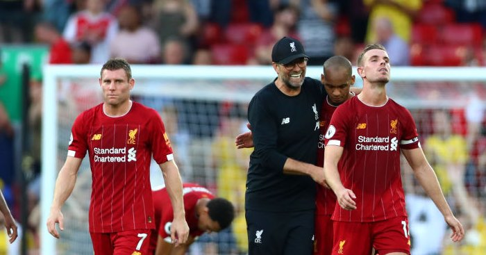 Image result for liverpool 3-1 arsenal 2019