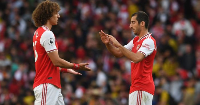 Henrikh Mkhitaryan David Luiz TEAMtalk