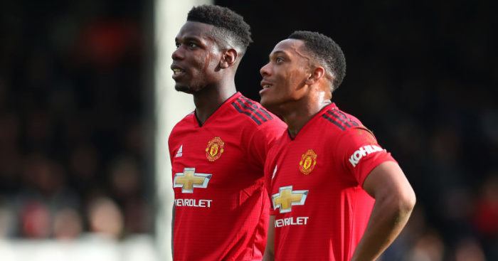Paul.Pogba .Anthony.Martial1 - Man Utd fans worried about Leicester clash; Two Liverpool stars to miss out against Newcastle?