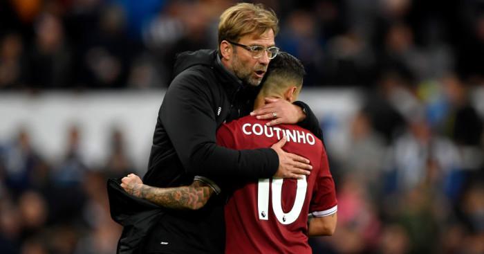 Jurgen Klopp, Philippe Coutinho Liverpool TEAMtalk