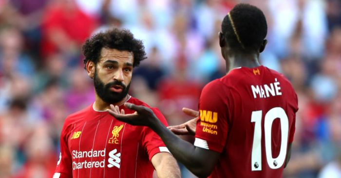 Mohamed Salah; Sadio Mane TEAMtalk