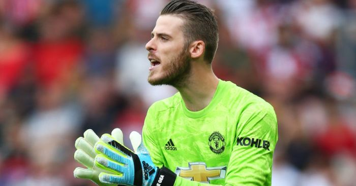 David De Gea TEAMtalk