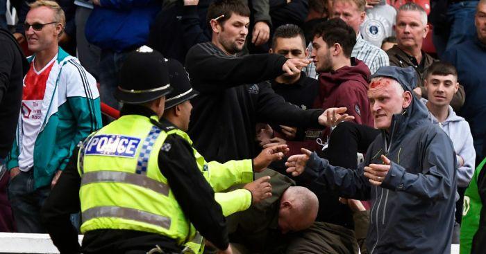 Police investigating Barnsley v Leeds disorder