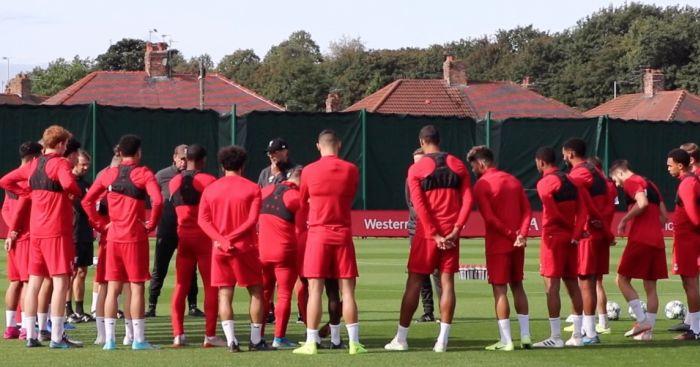 Liverpool training TEAMtalk