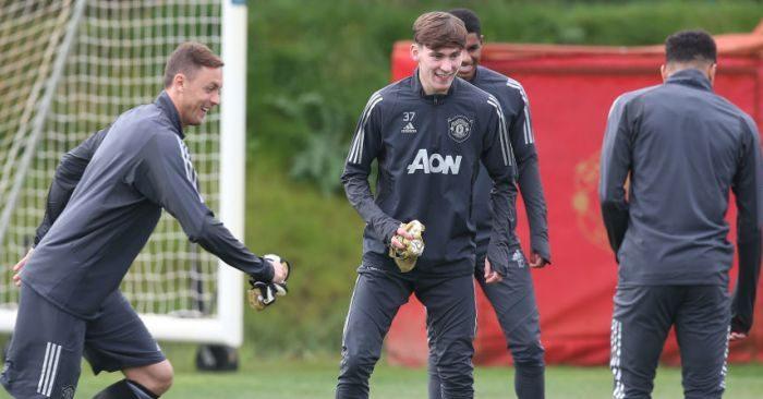 Man Utd training TEAMtalk