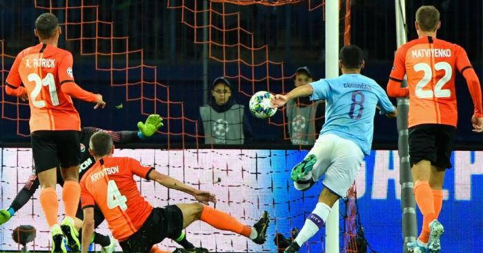 Classy Man City romp home with three points against Shakhtar