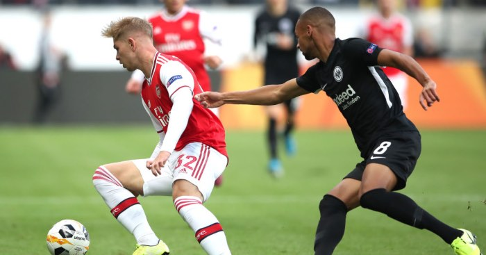 Emile Smith Rowe - Hargreaves in damning Europa League verdict on Man Utd, Arsenal