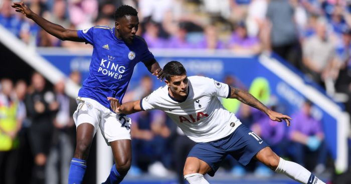 leitot 1 - Leicester continue strong start with comeback win over Spurs