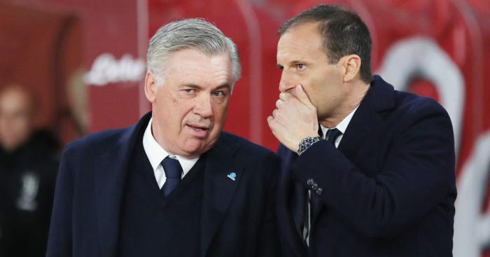 Carlo Ancelotti, Massimiliano Allegri TEAMtalk